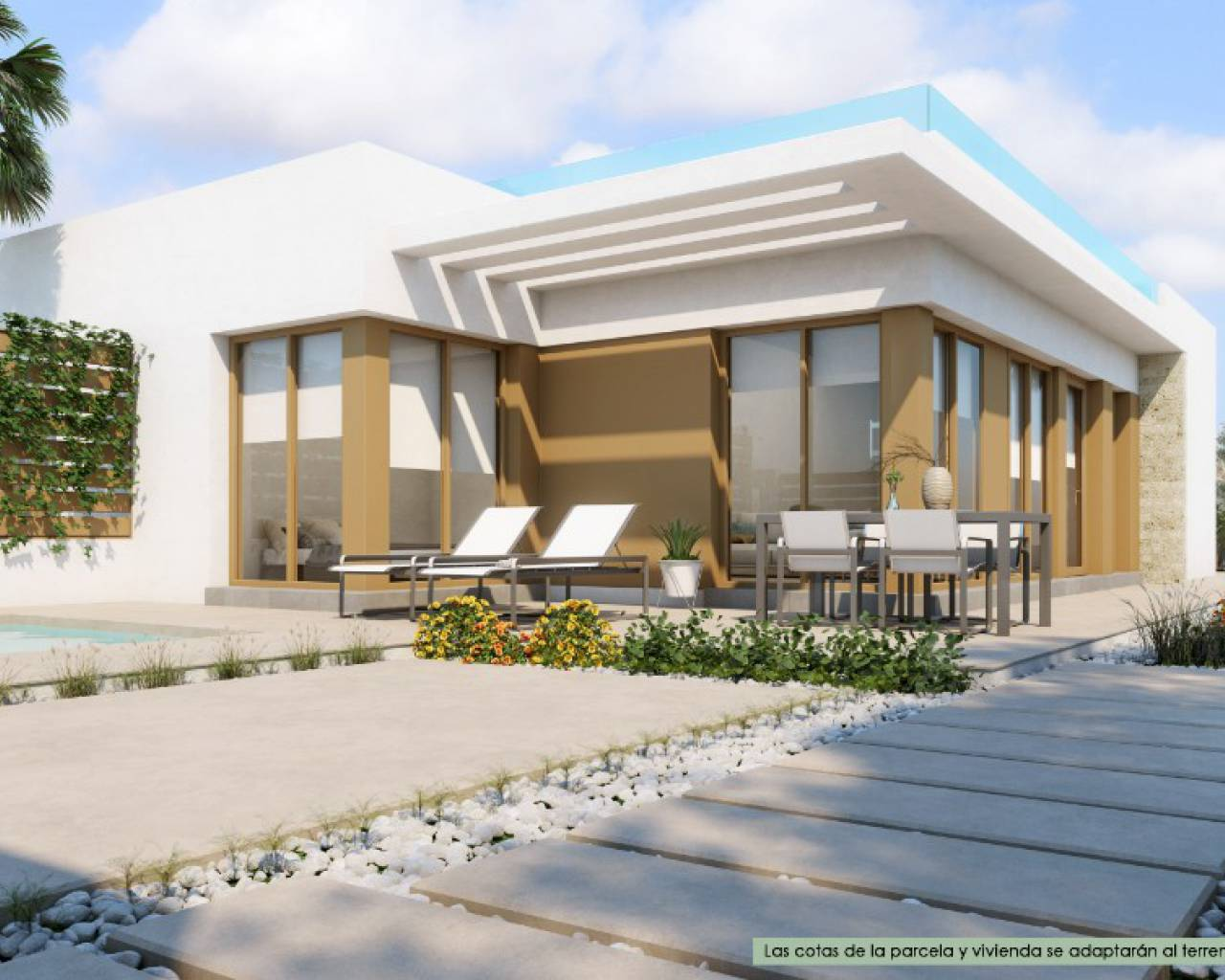 New Build - Semi Detached Villa - Los Montesinos - Vistabella Golf
